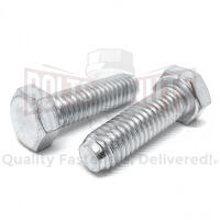 M10-1.25x50 Class 10.9 Hex Cap Screws Zinc Clear