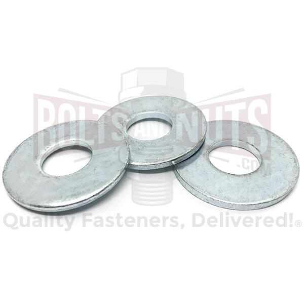 "1"" USS Low Carbon Flat Washers Zinc"