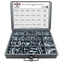 Class 10.9 Hex Head Cap Screws, Hex Nuts, Washers, and Lock Washers - 574 PCS