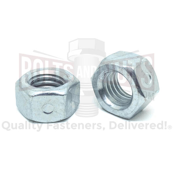"3/4""-10 Steel Two Way Reversible Hex Lock Nuts Zinc"