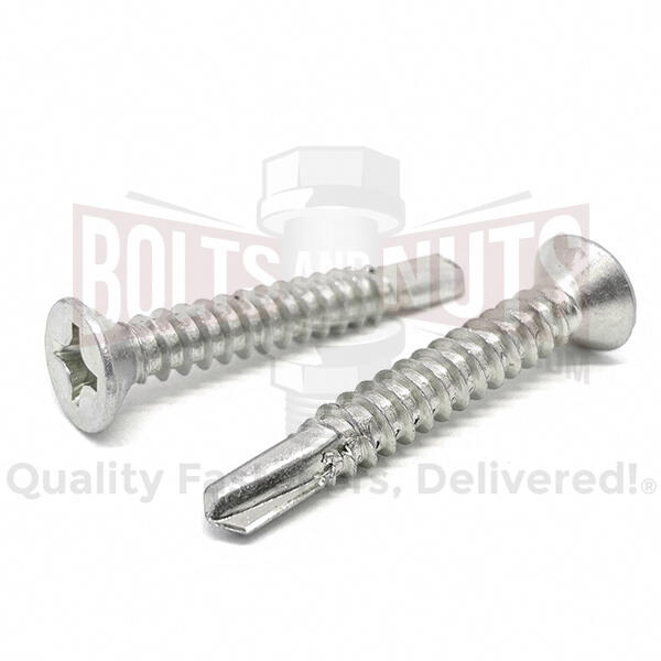 Stainless Phillips Flat Head