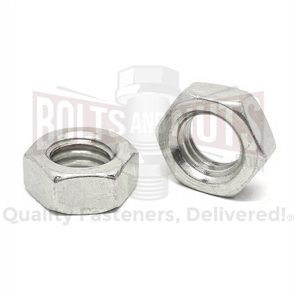 Stainless Hex Jam Nuts