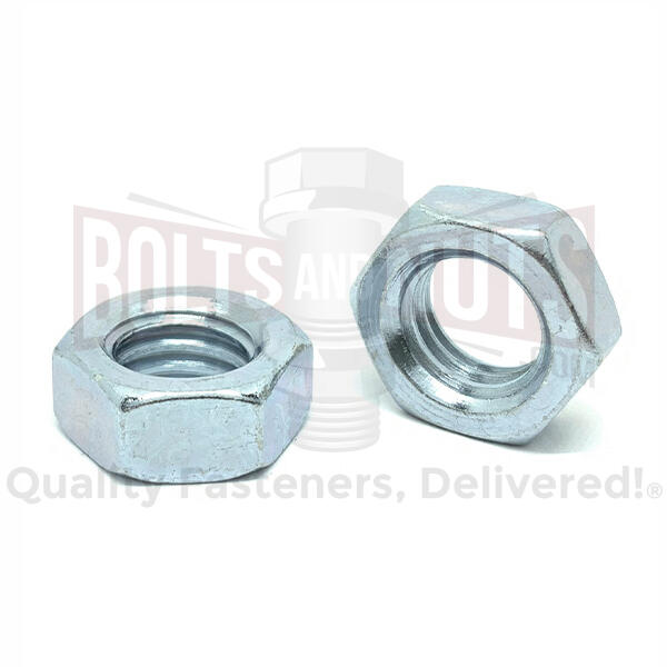 Steel Hex Jam Nuts
