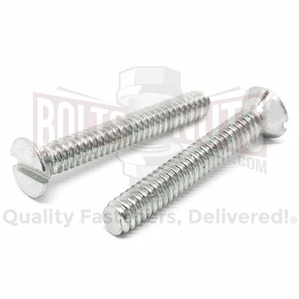 Stainless Slotted Flat Head